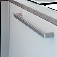 EXTENDO Cabinet Handle - Inox Look - 160mm
