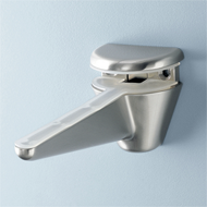Shelf Bracket - Length : 180mm - Polished Chrome Finish