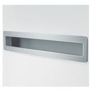 Cabinet Flush Handle - 280mm - Silver F