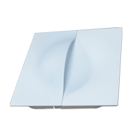 Cabinet Flush Handle - 110X110mm - Matt
