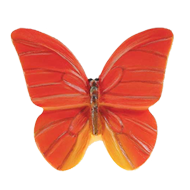 Butterfly Cabinet Knob - 44mm - Multico