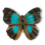 Butterfly Cabinet Knob - 38mm - Multico