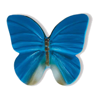 Butterfly Cabinet Knob - 40mm - Multico