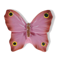Butterfly Cabinet Knob - 41mm - Multicolour