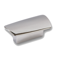 Cabinet Handle - 65mm - Bright Chrome Finish - Left