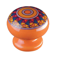 Cabinet Knob - 31mm - Orange Pastell Ma