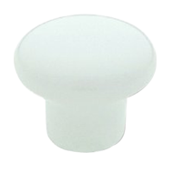 Cabinet Knob - 25mm - White Colour