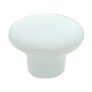 Cabinet Knob - 32mm - White Colour