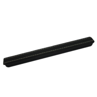 Cabinet Handle - 180mm - Black Leather
