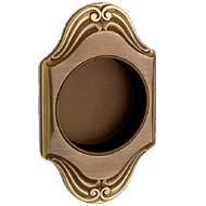 Sliding Flush Cabinet Handle  - Matt Bronze
