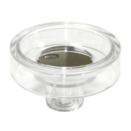 Cabinet Knob - 60mm - Transparent Clear