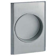 Sliding Flush Cabinet Handle  - Chrome