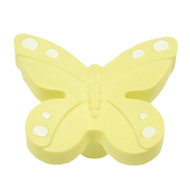 Butterfly Cabinet Knob in Yellow Colour