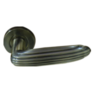 Brass Diamond Collection - Door Lever H