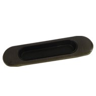 Flush Cabinet Handle - Bronze