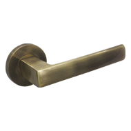 DOLCE Lever Handle on Rose - Antique Fi