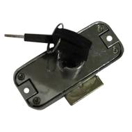 Rotating Bar Lock 19mm- Stainless Steel Finish