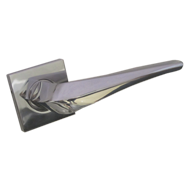 ASTRID Lever Handle on Rose - Chrome Fi