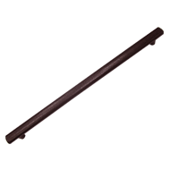 ELEGANT Leather Cabinet Handle - 600mm - Brown Colour