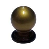 Ball Cabinet Knob - Gold Finish - 25mm