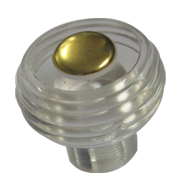 ACRY Cabinet Knob - Gold Finish