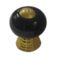 Cabinet Knob - Black Gold Finish - 32mm