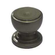 CUP Cabinet Knob - Silver Finish