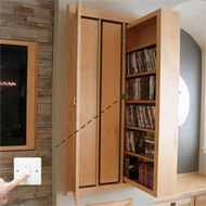 Automatic Hidden Cabinet