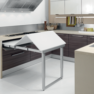 PARTY : Pull Out drawer table - 600mm