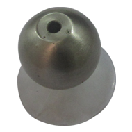 Round Vaccum - Small - Stainless Steel Finish