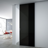 Sliding Door with aluminium panel - Half-visible Easy Fra
