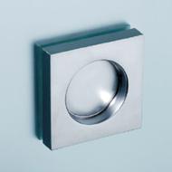 Sliding door handle square - 65X65mm -  Satin Nickel Finish