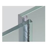 ALUMINIUM ANGLED PROFILE - bar length of 3000 mm - Anodized Aluminium