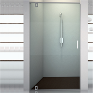 Shower Cubicles for single glass door