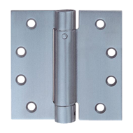 Single Action Spring Hinges - 100mm - Stainless Steel Finish