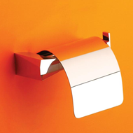 Jaki Tissue Paper Holder - Chrome Plated Finish