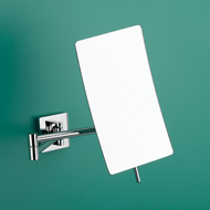 Shaving Mirror - Polished Chrome Finish