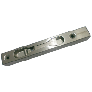 Box Tower Bolt - 6 Inch - Stainless Steel Finish