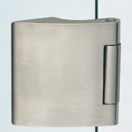 Vertical Hinge in Aluminium with vertical holes German type - Aluminium Anodised Fin