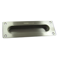 Sliding Flush Handle - Square - Stainle