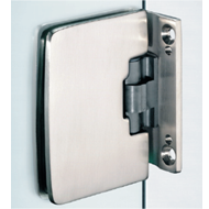 Automatic Hinge 180° opening - Satin Chrome Finish