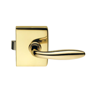 Minima Lock - Latch Function - Polished Brass Finish