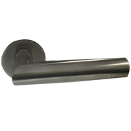 Oval Tube Lever Handle - Stainless Steel Finish