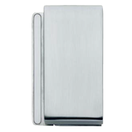 STRIKE BOX for double door To be coupled with V-770-R - Left - Satin Chrome Finish
