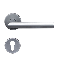 Oval Tube Lever Handle - Polished Chrom