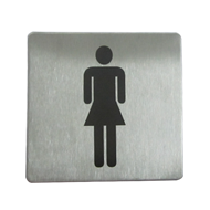 Female Sign Plate - 100X100mm
