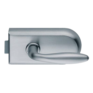 Round Lock Latch Function (UV) - Satin Chrome Finish