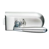 Round Lock Latch Function with privacy snib - Satin Chrome Finish