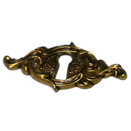 Escutcheon Key Hole - Valenza Gold Finish