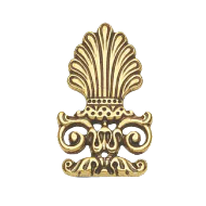 Furniture Stud - 63x40mm - Valenza Gold Finish